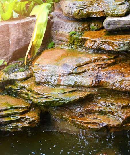 Desert Gold Landscape Commercial Water Features