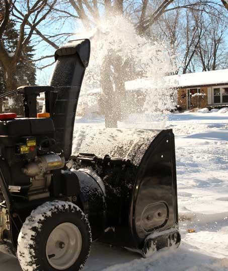Desert Gold Landscape Residential Snow Removal