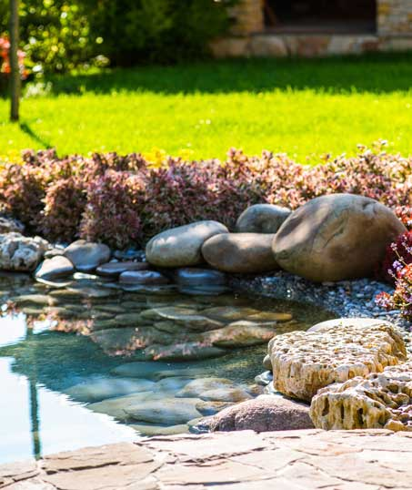 Desert Gold Landscape Residential Water Features