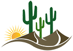 Desert Gold Landscape Logo
